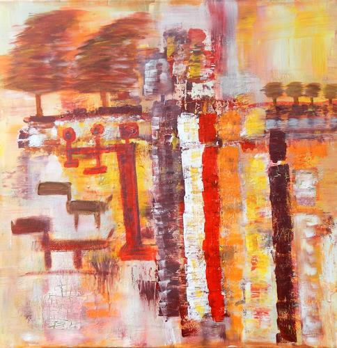 BRIGITTE, LIEBE - GLAUBE - HOFFNUNG, Abstraktes, Menschen, Abstrakte Kunst