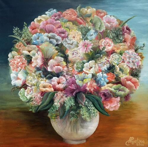 Angelina Casadei, Flowermagic, Pflanzen, Poesie, Art Déco, Expressionismus