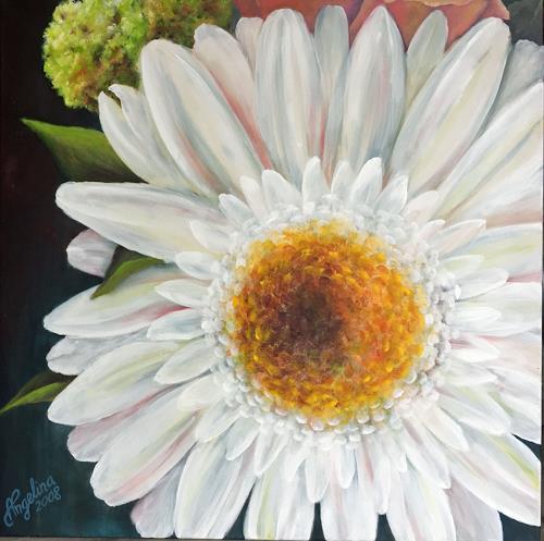 Angelina Casadei, Gerbera, Pflanzen: Blumen, Poesie, Environment Art