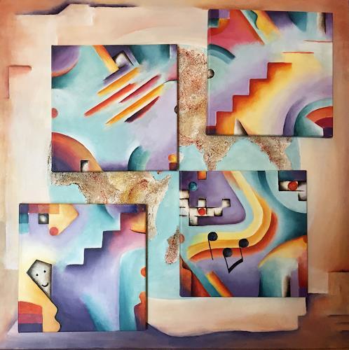 Angelina Casadei, Internet, Fantasie, Symbol, Abstrakte Kunst
