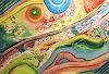 Angelina Casadei, Peinture collective faite par 9 personnes