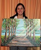 Angelina Casadei, Individuel painting in a few hours you paint your inspiration