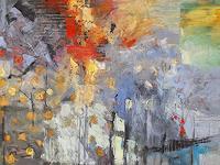 Hedwig-Oeldig-Landschaft-Herbst-Moderne-Abstrakte-Kunst