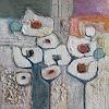 Angela Fusenig, Komposition mit Weiß