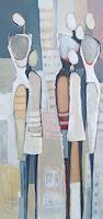 Angela-Fusenig-1-Menschen-Gruppe-Diverse-Menschen-Gegenwartskunst-Gegenwartskunst