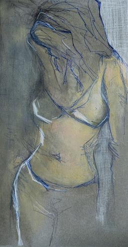 Angela Fusenig, Figur stehend, Menschen: Frau, Akt/Erotik: Akt Frau, Gegenwartskunst