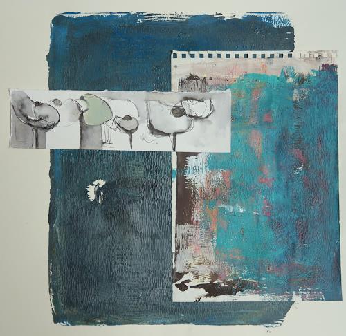 Angela Fusenig, O.T., Stilleben, Diverses, Gegenwartskunst, Expressionismus