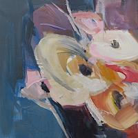 Angela-Fusenig-1-Abstraktes-Diverse-Pflanzen-Moderne-Abstrakte-Kunst-Informel