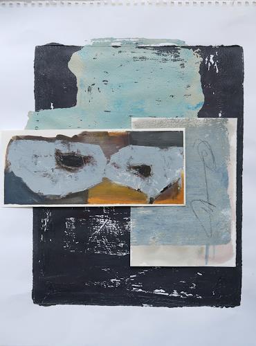 Angela Fusenig, O.T., Abstraktes, Stilleben, Gegenwartskunst, Abstrakter Expressionismus