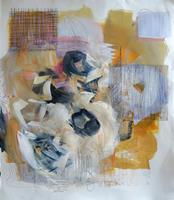 Angela-Fusenig-1-Abstraktes-Pflanzen-Blumen-Moderne-Abstrakte-Kunst-Informel
