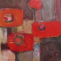 Angela-Fusenig-1-Abstraktes-Pflanzen-Blumen-Gegenwartskunst-Gegenwartskunst