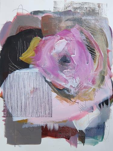 Angela Fusenig, O.T., Abstraktes, Diverses, Gegenwartskunst, Expressionismus