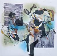 Angela-Fusenig-1-Abstraktes-Poesie-Moderne-Abstrakte-Kunst-Informel