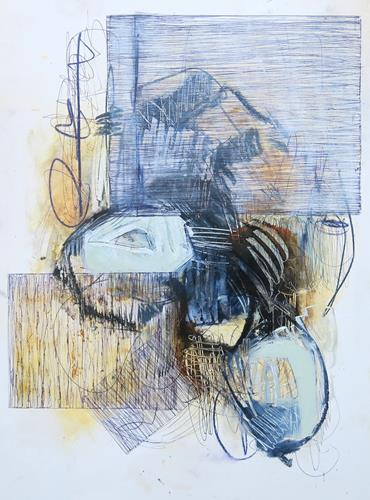 Angela Fusenig, O.T., Abstraktes, Abstraktes, Informel