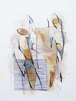 Angela Fusenig, Figürliche Komposition 3/21