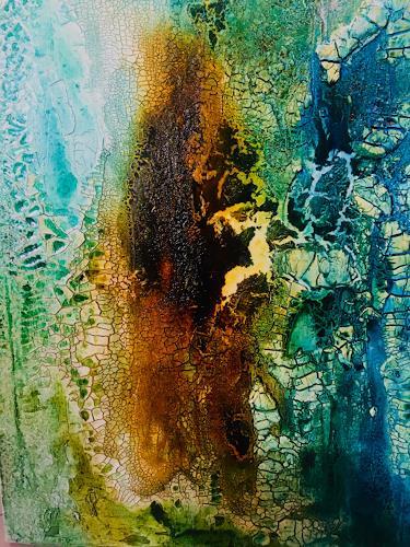 CaymanArt, O/T, Landschaft, Abstrakte Kunst