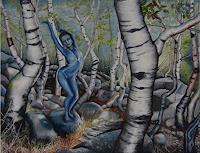 Claudia-Erbelding-Pflanzen-Baeume-Menschen-Frau-Gegenwartskunst-Postsurrealismus