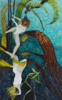 Claudia-Erbelding-Landschaft-See-Meer-Menschen-Moderne-Impressionismus