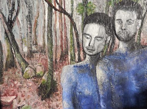 Claudia Erbelding, Brothers, Menschen, Landschaft: Herbst, Gegenwartskunst
