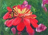 Claudia-Erbelding-Pflanzen-Blumen-Tiere-Luft-Moderne-Expressionismus