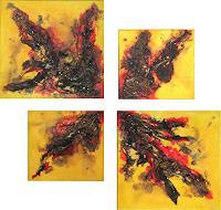 Karin-Ott-Hofmann-Abstraktes-Moderne-Abstrakte-Kunst-Drip-Painting