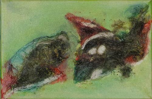 Karin Ott-Hofmann, Fische, Tiere: Wasser, Gegenwartskunst