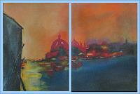 Karin-Ott-Hofmann-Diverse-Landschaften-Diverse-Bauten-Moderne-Impressionismus-Postimpressionismus