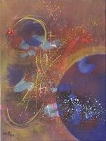 Karin-Ott-Hofmann-Weltraum-Gestirne-Natur-Diverse-Moderne-Abstrakte-Kunst