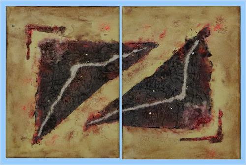 Karin Ott-Hofmann, Quadrat, Diverses, Abstrakte Kunst