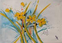 Karin-Ott-Hofmann-Pflanzen-Blumen-Moderne-expressiver-Realismus