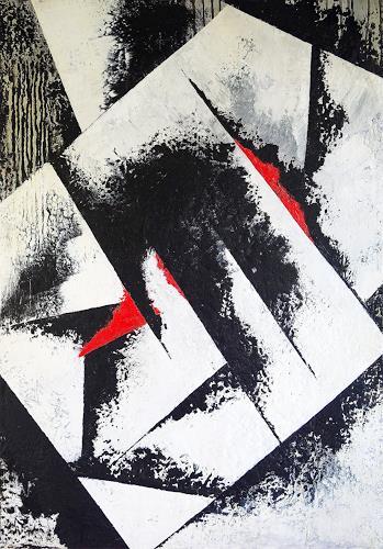 Maria Svatos, o. T. 05/19, Abstraktes, Gegenwartskunst, Abstrakter Expressionismus