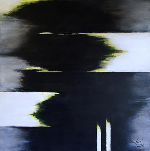 Maria Svatos, o.T., 02/20, Abstraktes, Fantasie, Gegenwartskunst, Abstrakter Expressionismus