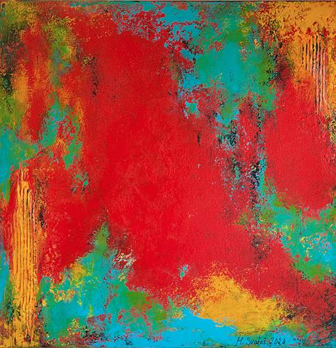 Maria Svatos, o.T., 03/20, Abstraktes, Fantasie, Abstrakte Kunst, Abstrakter Expressionismus