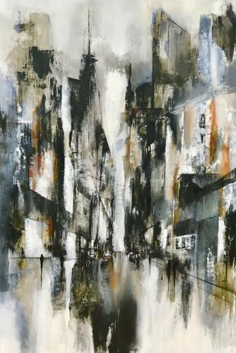 Nicole Glück, Forrester - Gefunden, Abstraktes, Abstraktes, Abstrakte Kunst