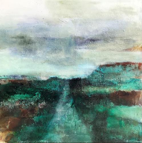 Nicole Glück, Volonté, Landschaft, Landschaft, Abstrakte Kunst, Expressionismus