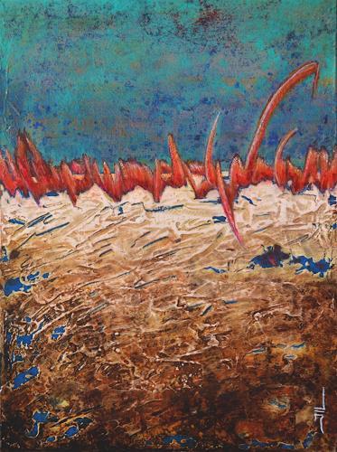 Jean-Luc LACROIX, Tension, Abstraktes, Natur: Erde, Abstrakte Kunst