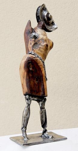 Jean-Luc LACROIX, Rosalie, Menschen: Frau, Symbol, Postsurrealismus, Abstrakter Expressionismus