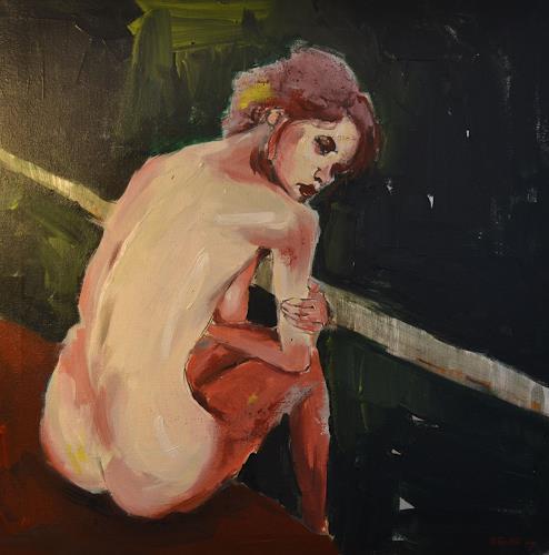 Andreas Zeug, ohne Titel, Menschen: Frau, Gegenwartskunst, Expressionismus