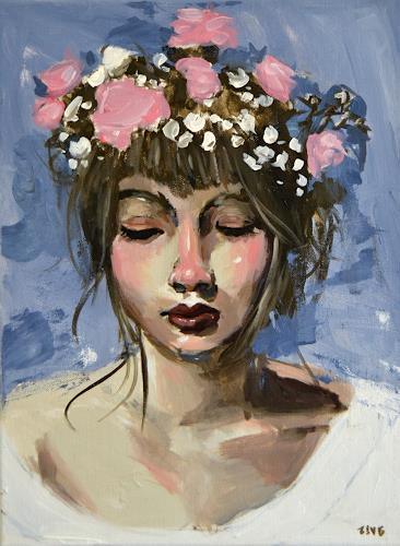 Rubinstein74, Luisa, Menschen: Gesichter, expressiver Realismus, Expressionismus