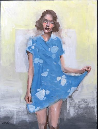 Rubinstein74, ohne Titel, Menschen: Gesichter, Menschen: Frau, expressiver Realismus, Expressionismus