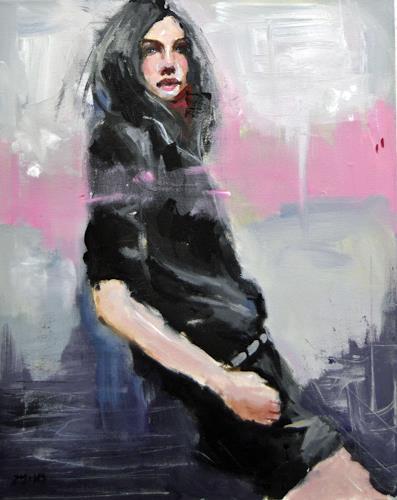 Andreas Zeug, Ronda, Menschen: Frau, expressiver Realismus