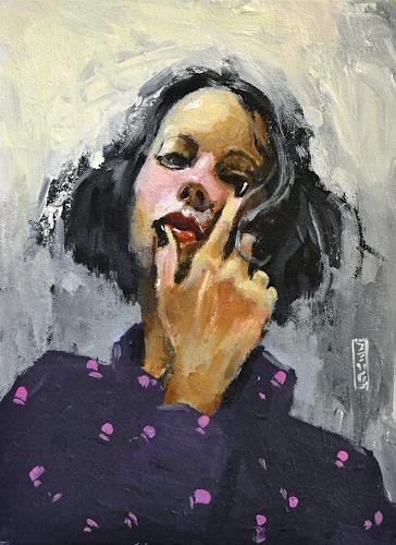 Andreas Zeug, Priscilla, Menschen: Frau, expressiver Realismus, Expressionismus