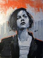Andreas-Zeug-Menschen-Frau-Menschen-Gesichter-Moderne-expressiver-Realismus