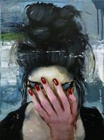 Andreas-Zeug-Menschen-Frau-Menschen-Portraet-Moderne-expressiver-Realismus