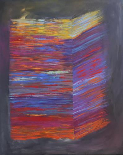 Sibylle Frucht, Paperboard, Fantasie, Abstraktes, Gegenwartskunst