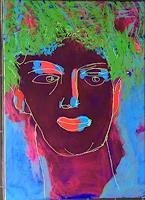 Sibylle-Frucht-Menschen-Gesichter-Abstraktes-Gegenwartskunst-Gegenwartskunst