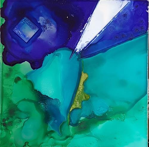 WWSt, Meerkristall, Abstraktes, Abstrakte Kunst, Abstrakter Expressionismus