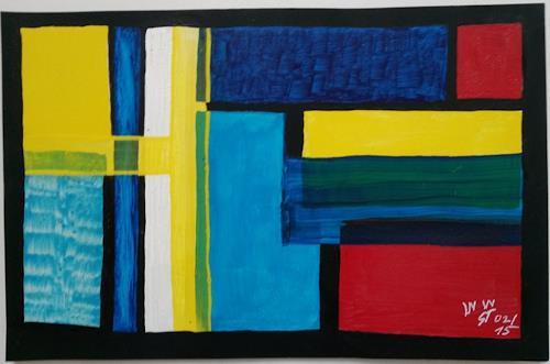 WWSt, Farbfelder 1, Abstraktes, Abstrakte Kunst