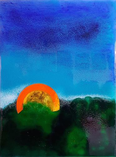 WWSt, Morgenglühen, Abstraktes, Abstrakte Kunst