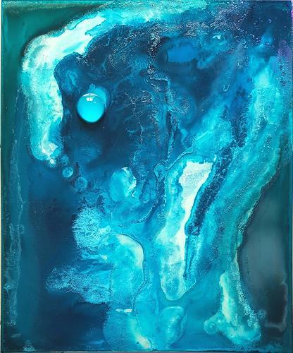 WWSt, Blautöne 8, Abstraktes, Abstrakte Kunst
